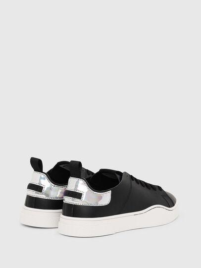 Diesel - S-CLEVER LS W, Black/Silver - Sneakers - Image 3