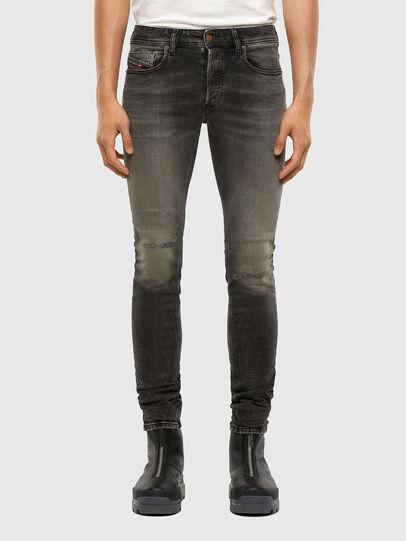 Diesel - Sleenker 009JF, Black/Dark grey - Jeans - Image 1