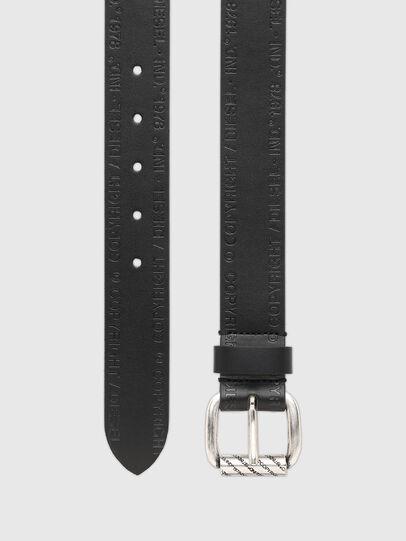 Diesel - B-FULCOPY, Black - Belts - Image 3
