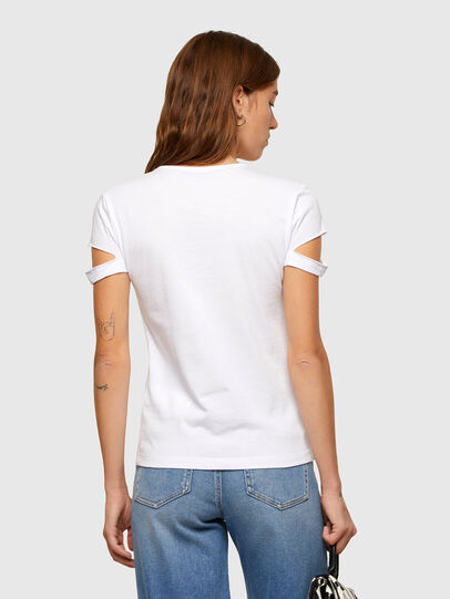 Diesel - T-BULLOCK-A2, White - T-Shirts - Image 2