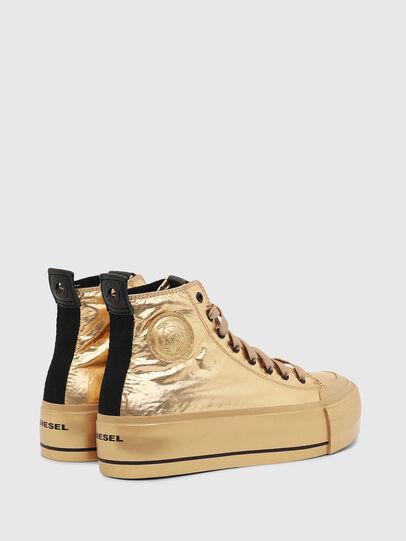 Diesel - S-ASTICO MC WEDGE, Gold - Sneakers - Image 3