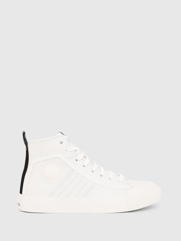 S-ASTICO MID LACE W, White - Sneakers