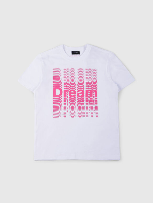 Diesel - TJUSTSE, White - T-shirts and Tops - Image 1