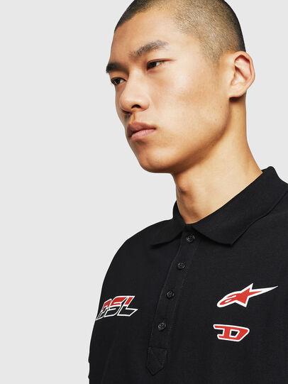 Diesel - ASTARS-T-NIGHT-NEW, Black - T-Shirts - Image 4