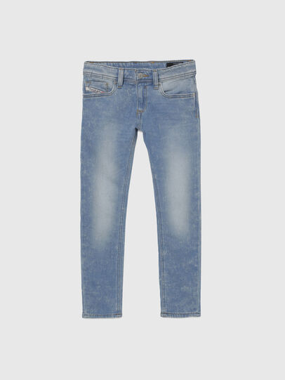 Diesel - SLEENKER-J JOGGJEANS-N, Blue - Jeans - Image 1