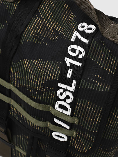 Diesel - VOLPAGO BACK, Green/Black - Backpacks - Image 6
