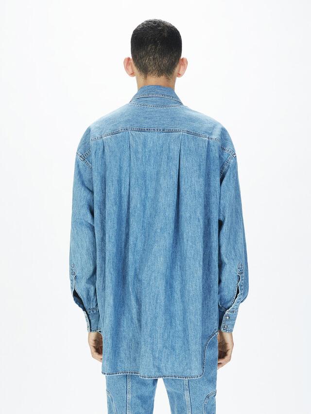 Diesel - SOTS01, Light Blue - Shirts - Image 4