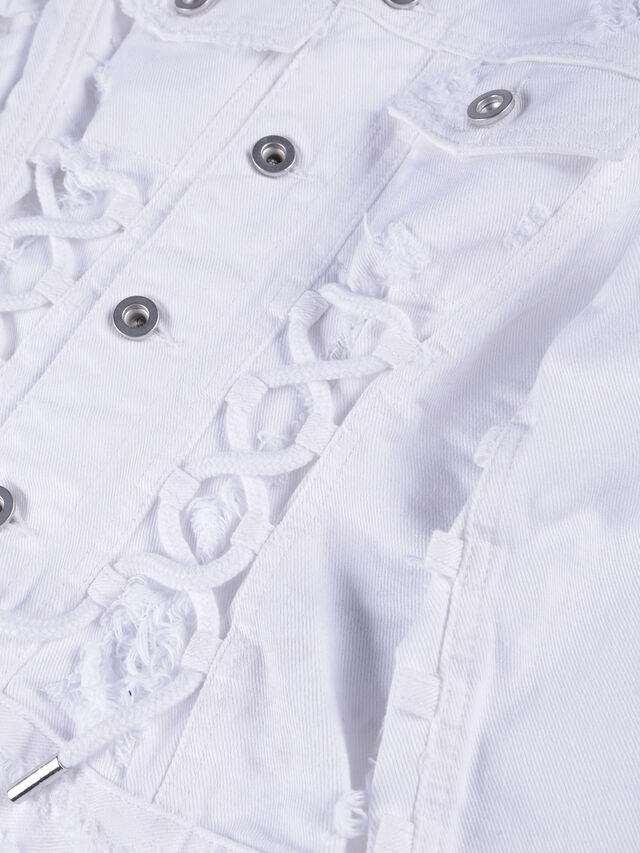 Diesel - JEOCYD, White Jeans - Jackets - Image 3