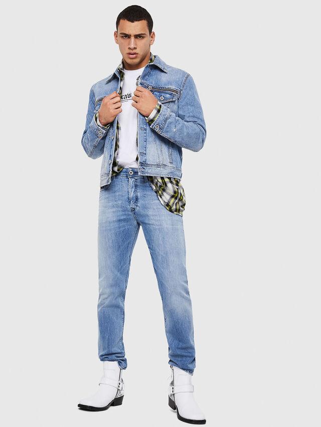 Diesel - Buster 081AL, Light Blue - Jeans - Image 6