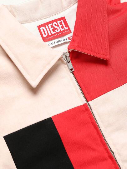 Diesel - GR02-J303-P, White - Denim Jackets - Image 3