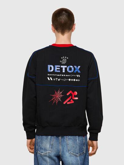 Diesel - S-LAINER, Black - Sweaters - Image 2