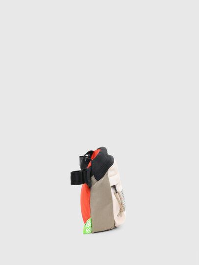 Diesel - LOKI, White/Orange - Crossbody Bags - Image 3