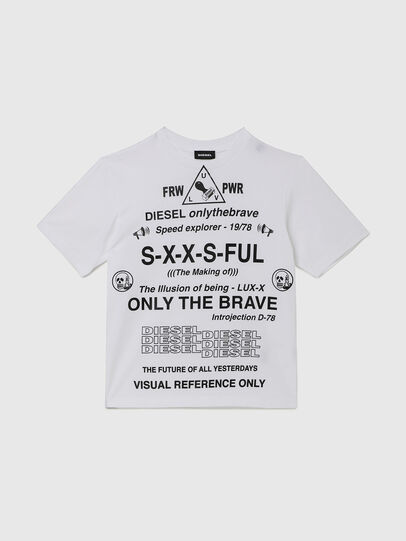Diesel - TBALLX2 OVER, White - T-shirts and Tops - Image 1