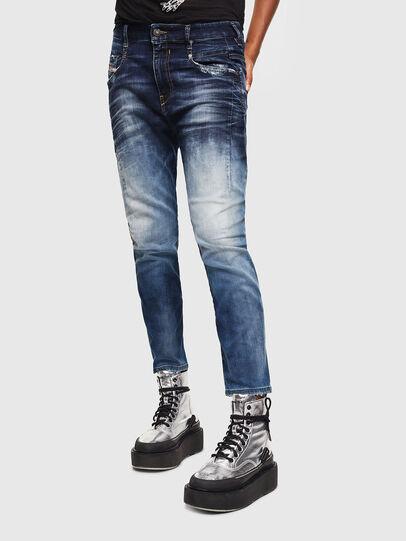 Diesel - FAYZA JoggJeans® 069KD, Dark Blue - Jeans - Image 1