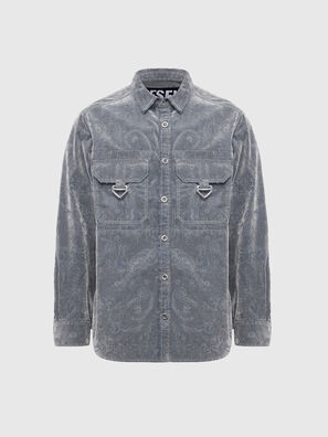 D-RONNY, Grey - Denim Shirts