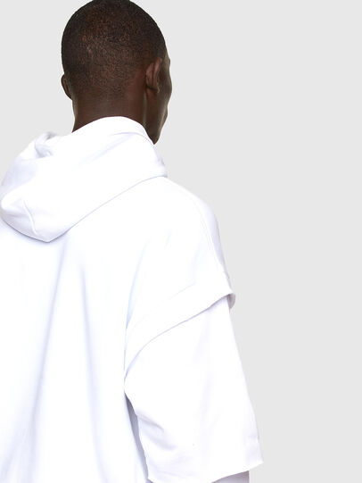 Diesel - S-UBBER-A1, White - Sweaters - Image 3