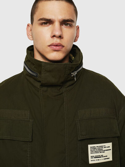 Diesel - J-TOUCHIN, Military Green - Jackets - Image 5