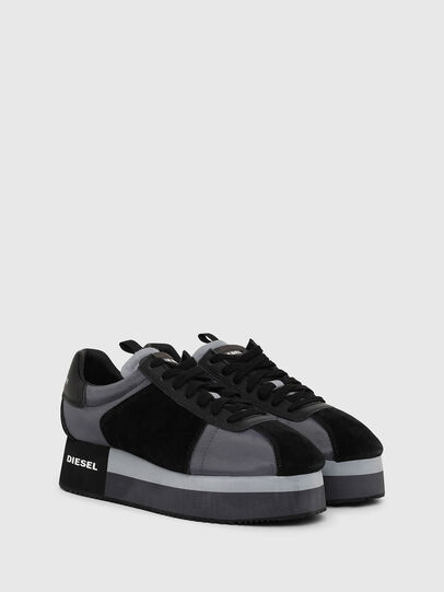 Diesel - S-PYAVE WEDGE, Blue/Black - Sneakers - Image 2