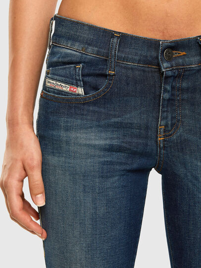 Diesel - D-Ebbey 009HL, Dark Blue - Jeans - Image 4