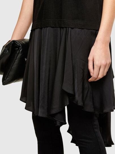 Diesel - D-JOLLIE, Black - Dresses - Image 3