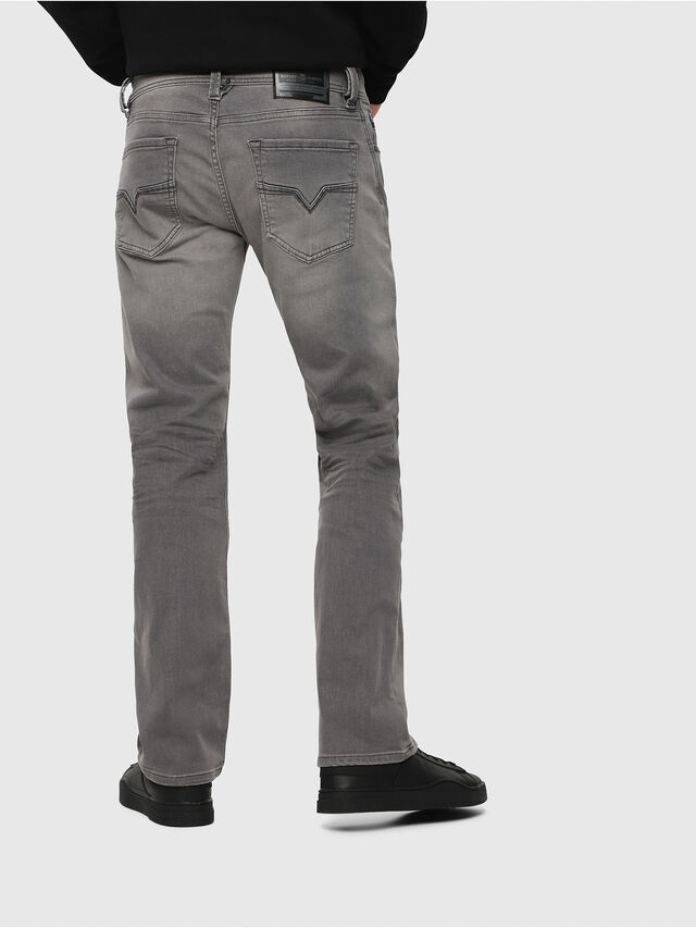 Diesel - Larkee C84HP, Light Grey - Jeans - Image 2
