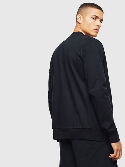 Diesel - UMLT-JUSTIN-Z, Black - T-Shirts - Image 2