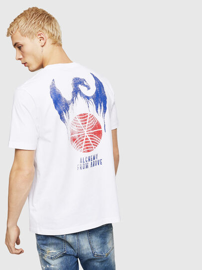 Diesel - T-JUST-A4, White - T-Shirts - Image 2