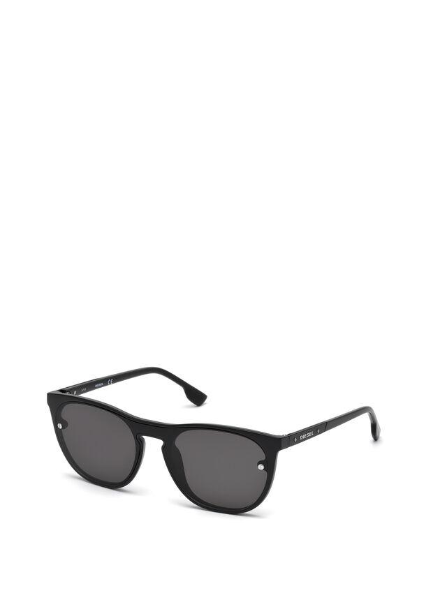 Diesel DL0217, Black - Eyewear - Image 4