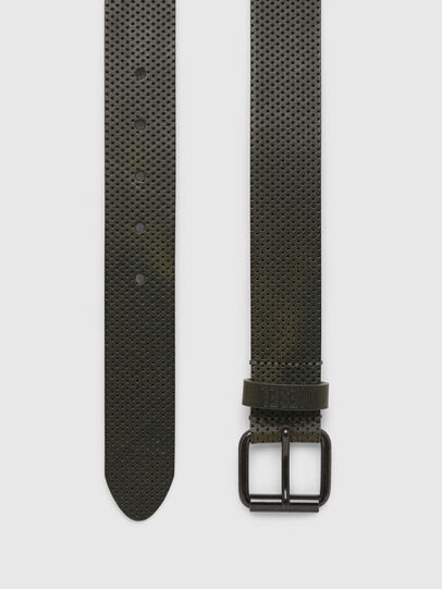 Diesel - B-LOLLO, Olive Green - Belts - Image 3
