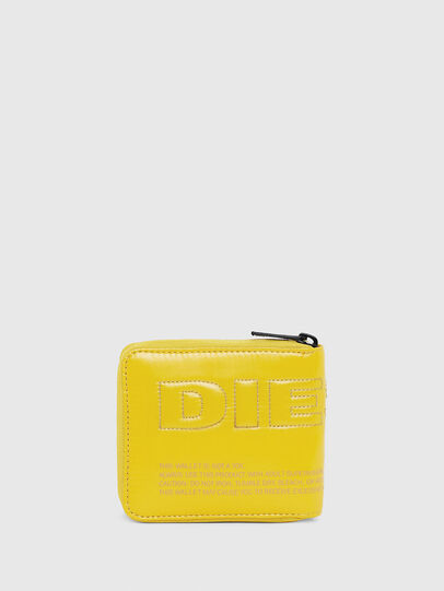 Diesel - ZIPPY HIRESH S, Yellow - Zip-Round Wallets - Image 1