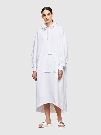 Diesel - D-ILSE-TWIST-RAW-COP, White - Dresses - Image 1