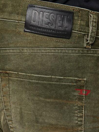 Diesel - D-Strukt 069PT, Military Green - Jeans - Image 4