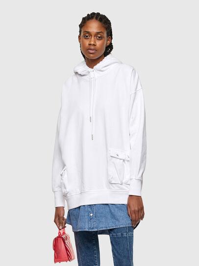 Diesel - D-SKIRTY, White - Dresses - Image 1