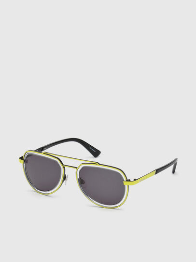Diesel - DL0266, Yellow - Sunglasses - Image 2
