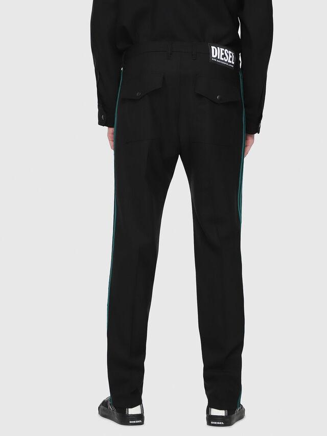 Diesel - P-ARK, Black/Green - Pants - Image 2
