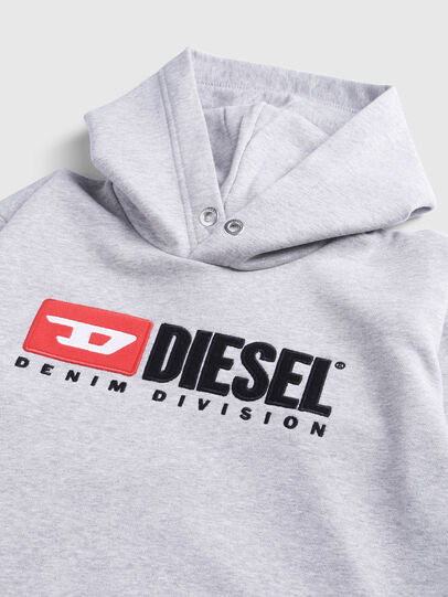 Diesel - SDIVISION OVER, Grey - Sweaters - Image 3