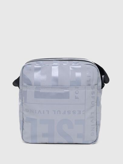 Diesel - X-BOLD DOUBLE CROSS, Grey - Crossbody Bags - Image 2