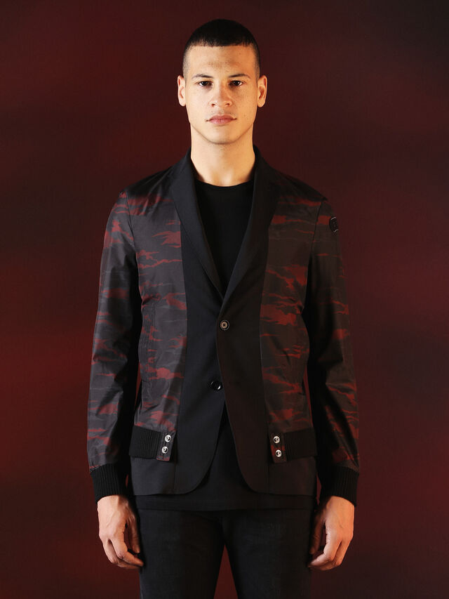 Diesel - DVL-JACKET-SPECIAL COLLECTION, Black - Jackets - Image 1