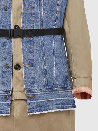 Diesel - W-CHARIE, Beige/Blue - Winter Jackets - Image 4