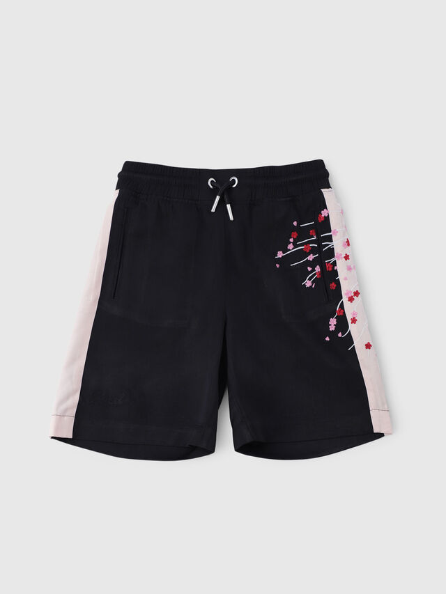 Diesel - PSLARRY, Black - Shorts - Image 1
