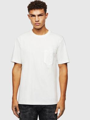 T-JUST-POCKET-J1, White - T-Shirts