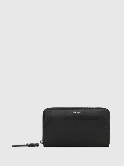 Diesel - GRANATO LC, Black - Zip-Round Wallets - Image 1