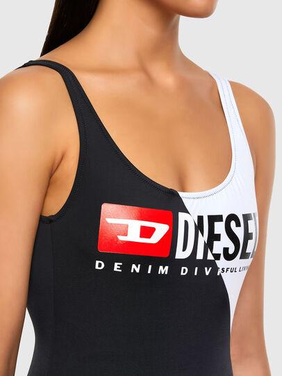 Diesel - BFSW-FLAMMYCUT, Black/White - Swimsuits - Image 3