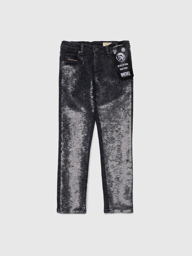 BABHILA-J-SP1, Black - Jeans