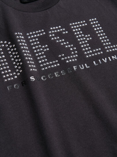 Diesel - TABEL, Black - T-shirts and Tops - Image 3