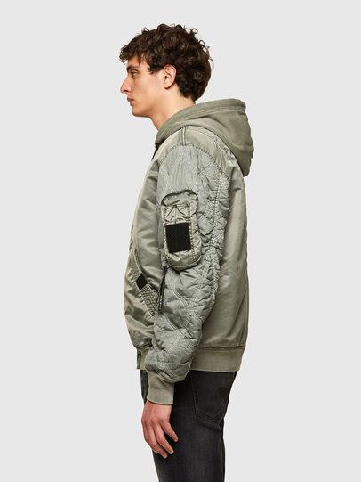Diesel - J-LAGASH, Military Green - Jackets - Image 5