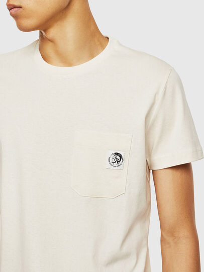 Diesel - T-WORKY-MOHI, White - T-Shirts - Image 3