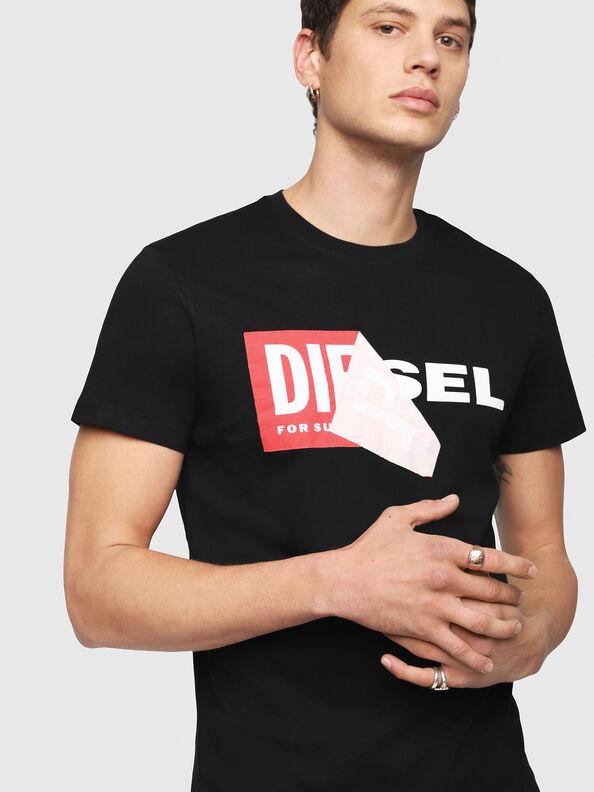 T-DIEGO-QA, Black - T-Shirts