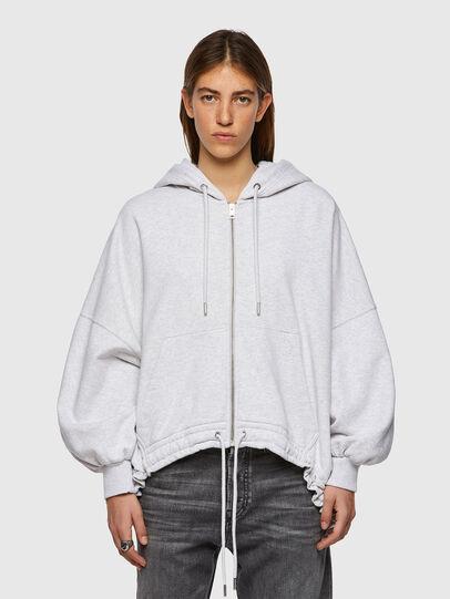 Diesel - F-BALI, Light Grey - Sweaters - Image 1