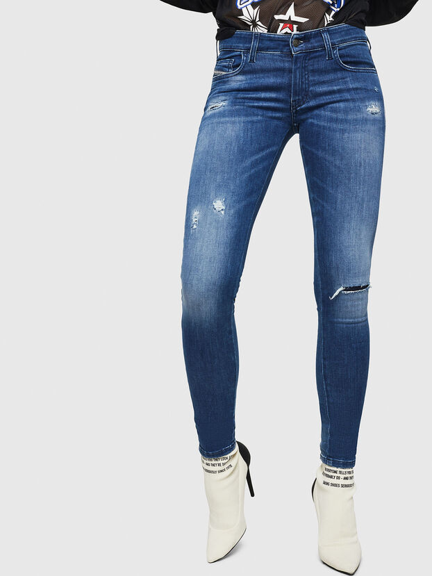 Slandy Low 089AI, Medium blue - Jeans